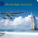 A fantastic seaplane tour with three course Lunch at Dubai Creek Golf and Yacht club