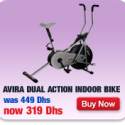 Avira Dual Action Indoor Bike