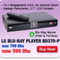 LG Blu-Ray Player + Movie