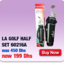 LA Golf Half Set (8 Pieces)