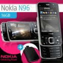 Nokia N96 16GB + Leather Case